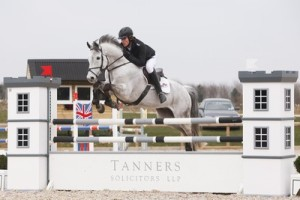William Fletcher and Uragan, second in the 1.30m and third in the 1.20m for Central Horse News small