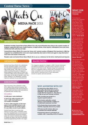 Central Horse News Whats On Final Media Pack 2013