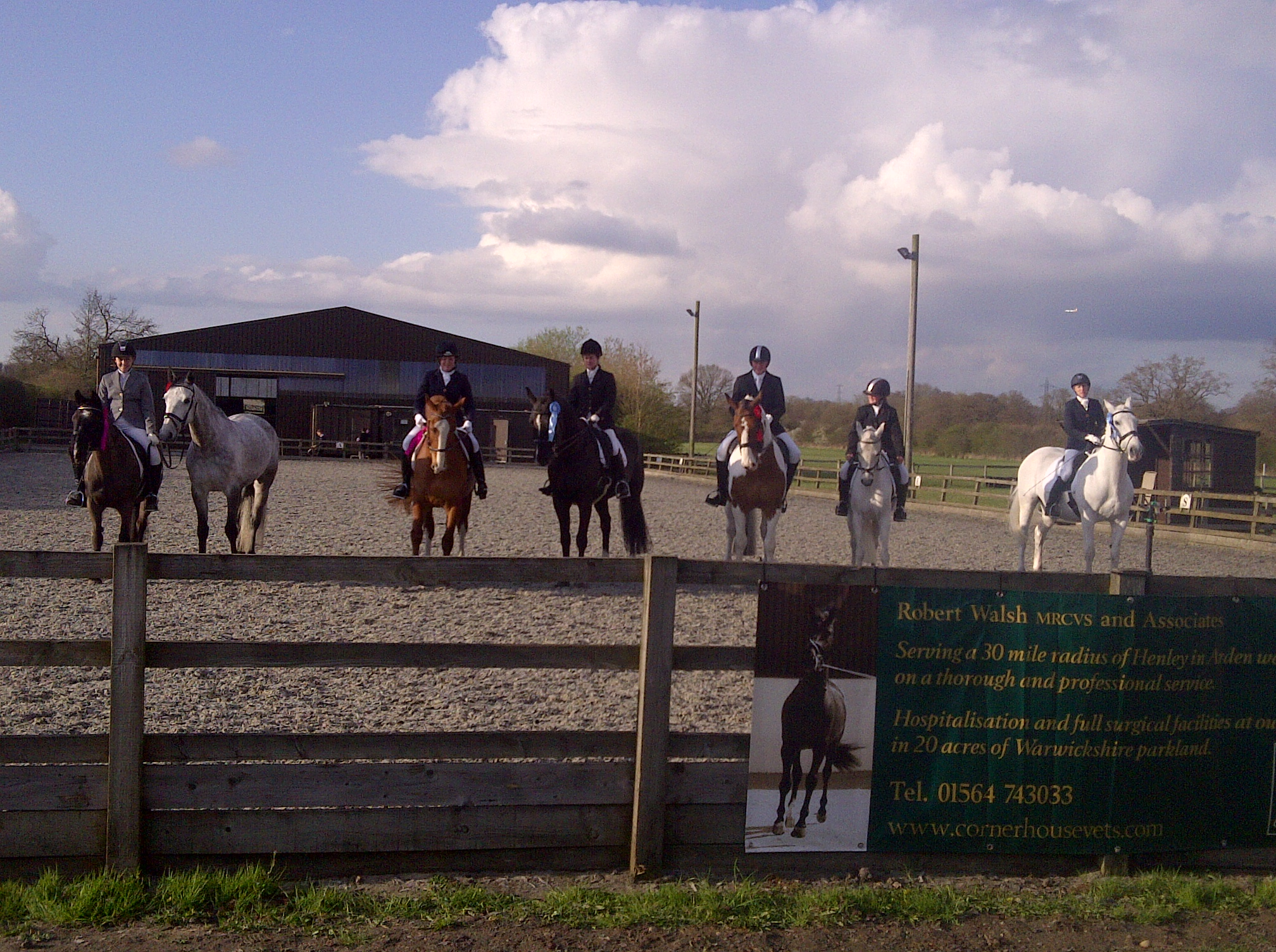 The Magnificent Seven April 13 Trailblazers at Swallowfield EC for Central Horse News.jpg