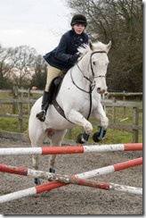 Hall Place Easter SJ Rosie Courtier-Dutton Silver Dollar for Central Horse News