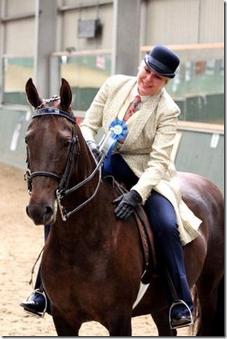 United Saddlebred World Breeds ribbon 2013 for Central Horse News