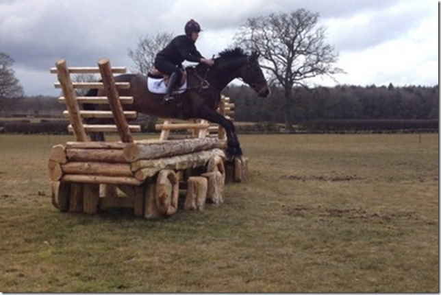Tom Martin and Aston for Central Horse News