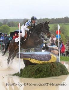 Andrew Hoy and Cheeky Calimbo, Chatsworth Int HT