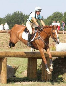 Izzy Taylor and Orlando, Advanced winners,Wellington Horse Trials 2013