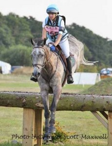 Tanya Kyle and Atlantic Domino,Wellington Horse Trials 2013