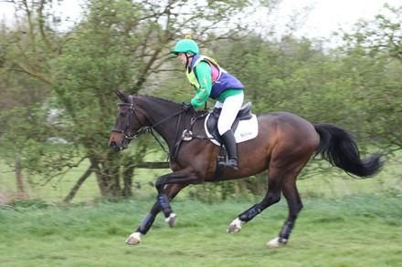 IMG_0862 Anna-Marie O'Hanlon riding Hattie
