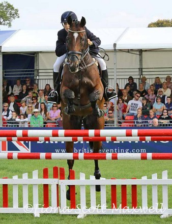 Charlotte Agnew and Out of Africa, CCI***, Blenheim International 2014