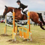 Amy and Minnie were winners of the Pony Club Intermediate Area Showjumping.