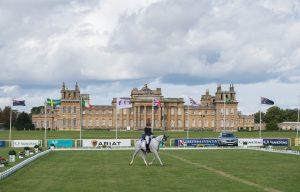 117 - Lauren Kieffer (USA) & Landmarks Monte Carlo - Dressage - CCI3* - The SsangYong Blenheim Palace International Horse Trials - 13th September 2017