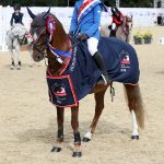 Class 58 Emily Irvine and Bunbury Conquest Stepping Stones 128cmChampionship Final (2)