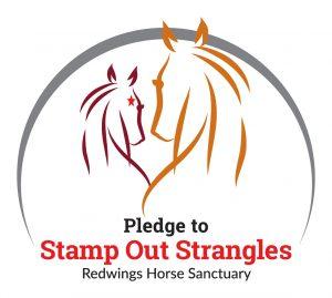Stamp Out Strangles pledge logo