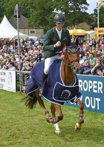Winner of the British Horse Feeds CCI-L u25 4* 1st Cathal Daniels riding RIOGHAN RUA IRL